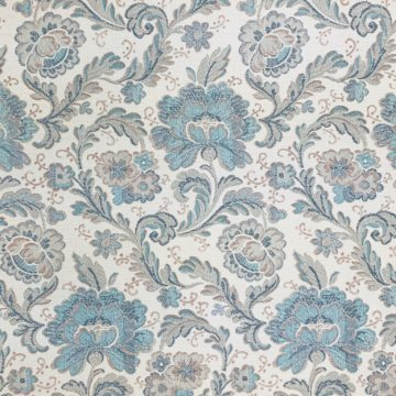 Blue paisley wallpaper 1