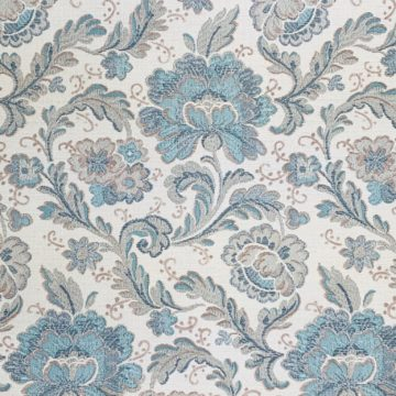 Blue paisley wallpaper 2