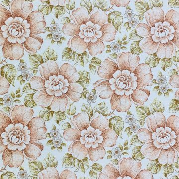Brown and Green Floral Wallpaper 2