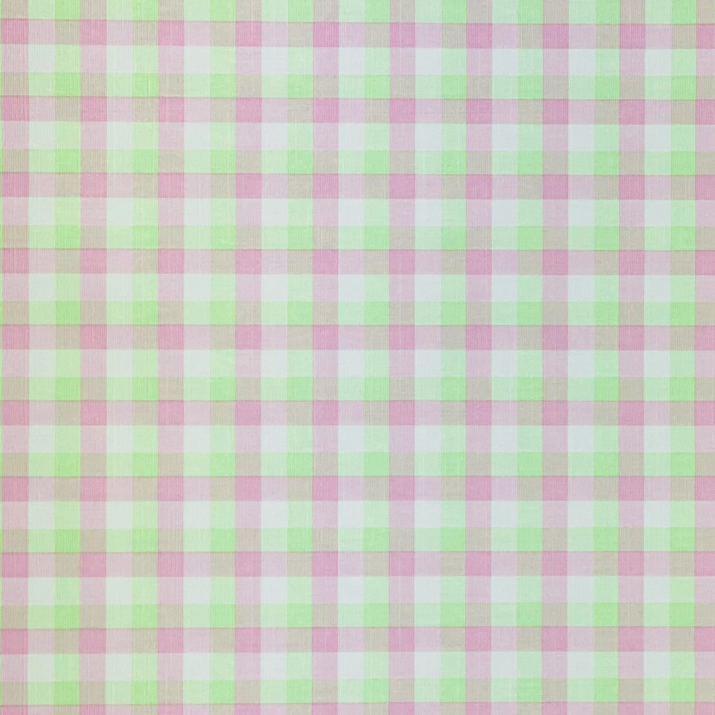 Checkered Wallpaper Fluo Green and Pink 5