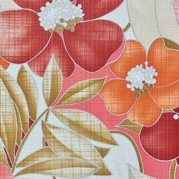 Colorful Floral Wallpaper Pink and Red 10