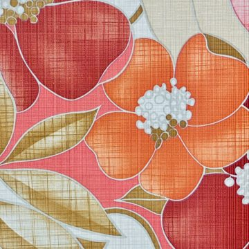 Colorful Floral Wallpaper Pink and Red 11
