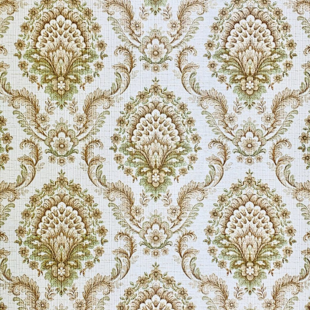 Vintage damask wallpaper 6