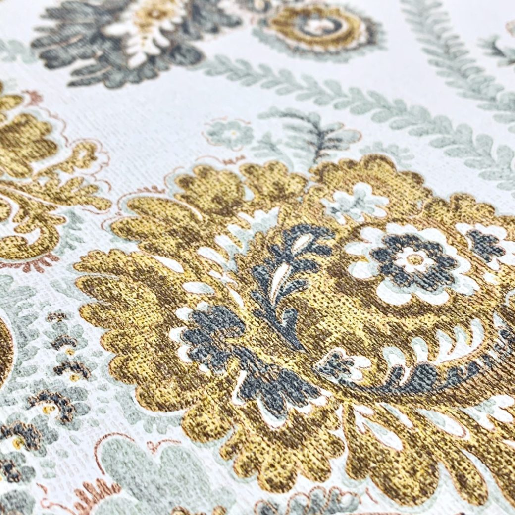Vintage damask wallpaper 4