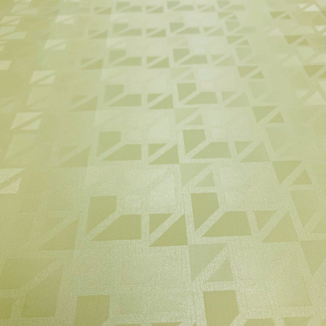 Green 3d geometric wallpaper 3