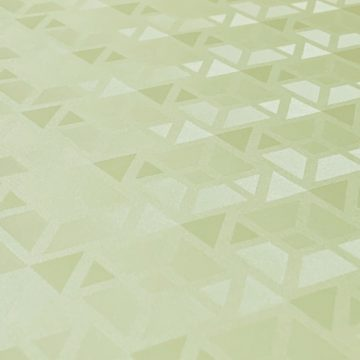 Green 3d geometric wallpaper 2