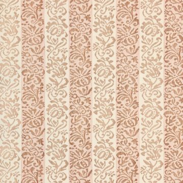 Vintage striped floral wallpaper 5