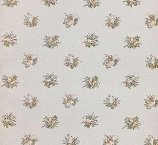 Vintage animal wallpaper