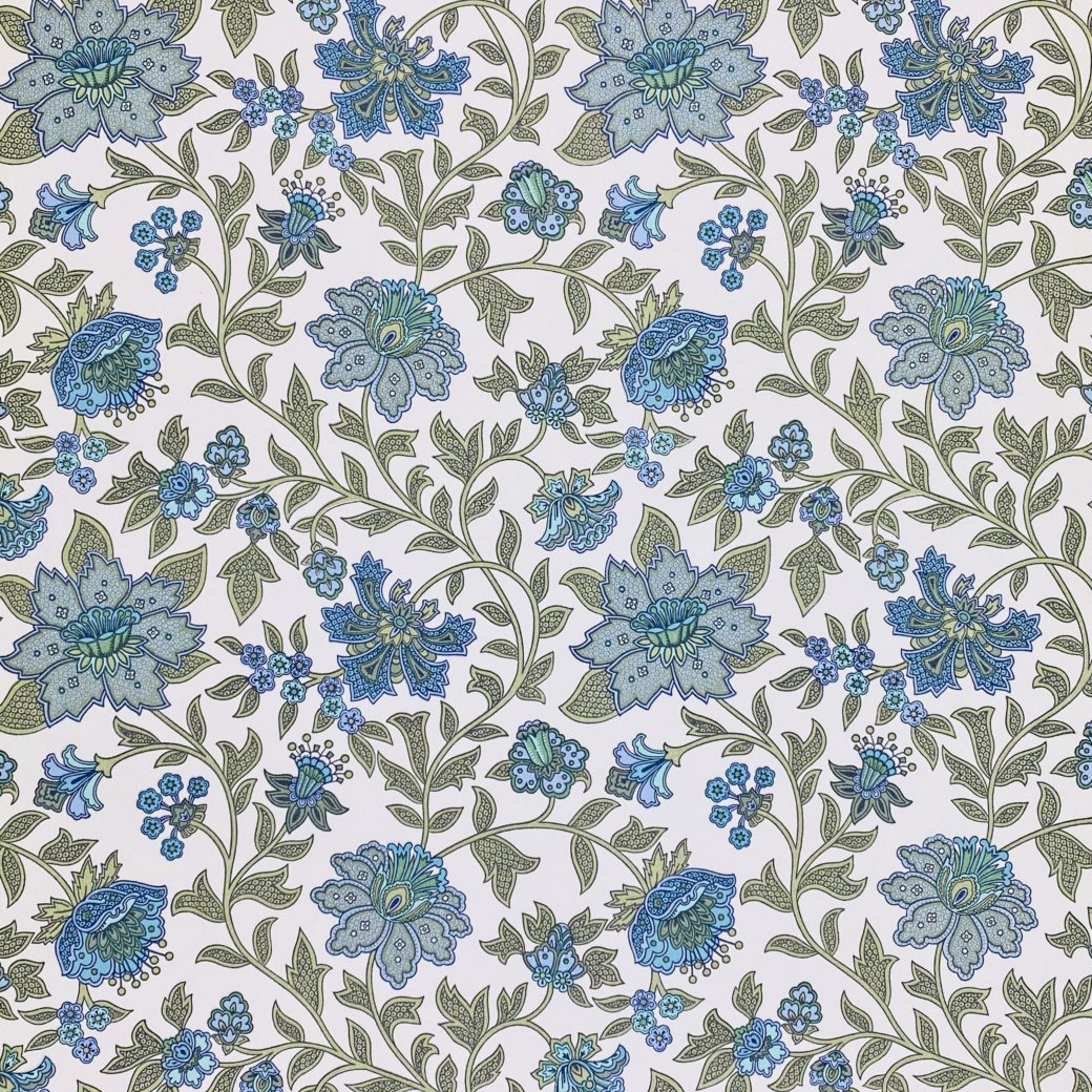 Floral Foam Wallpaper 1