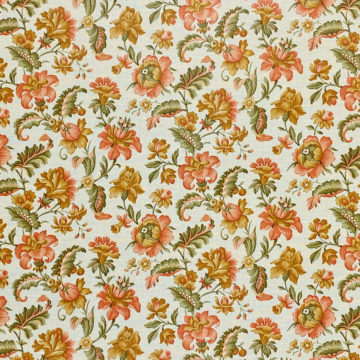 Floral Wallpaper Pink and Green 3
