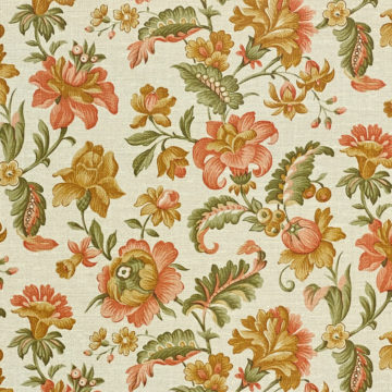 Floral Wallpaper Pink and Green 5
