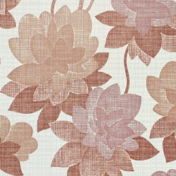 Floral Wallpaper Shades of Purple 2