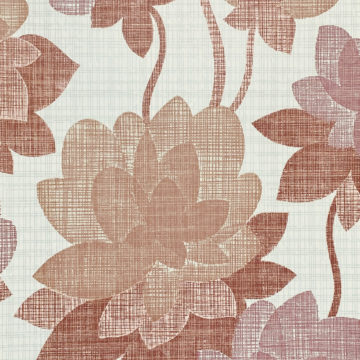 Floral Wallpaper Shades of Purple 5