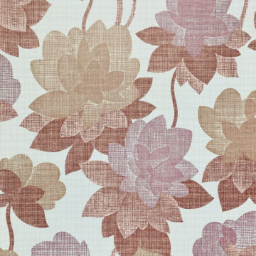Floral Wallpaper Shades of Purple