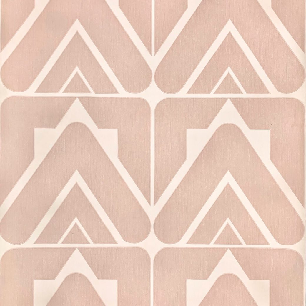 Vintage pink retro wallpaper