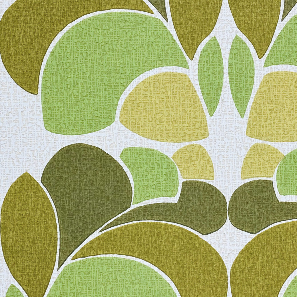 Geometric Wallpaper Leaf Pattern 8