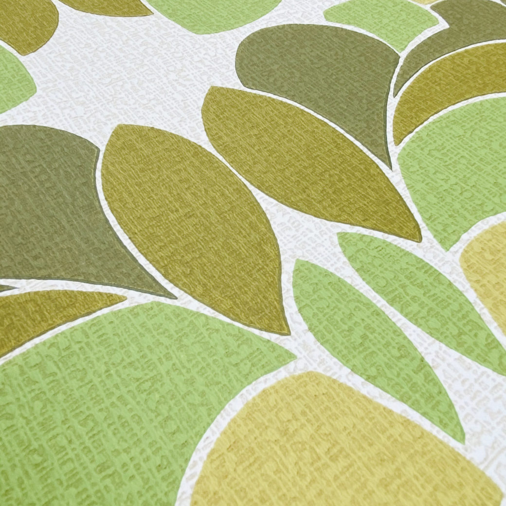 Geometric Wallpaper Leaf Pattern 9