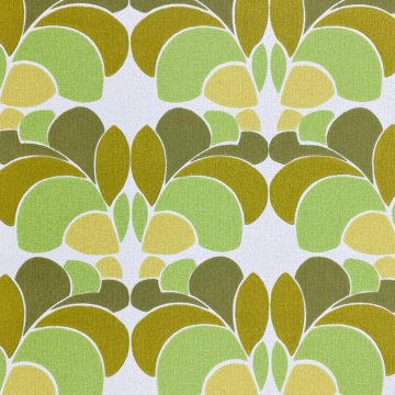 Geometric Wallpaper Leaf Pattern 2