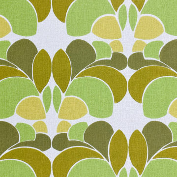 Geometric Wallpaper Leaf Pattern 3