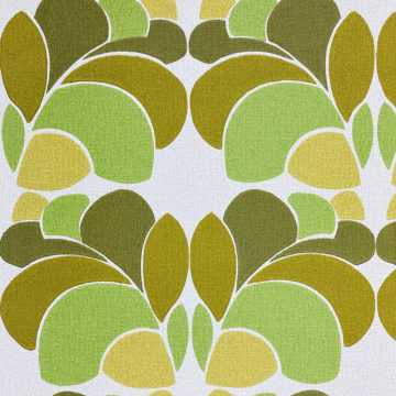 Geometric Wallpaper Leaf Pattern 5