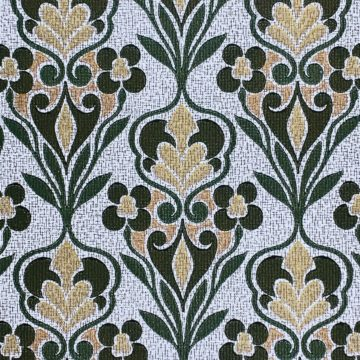 Green Baroque Wallpaper 3