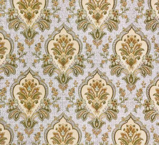 Green baroque wallpaper 7
