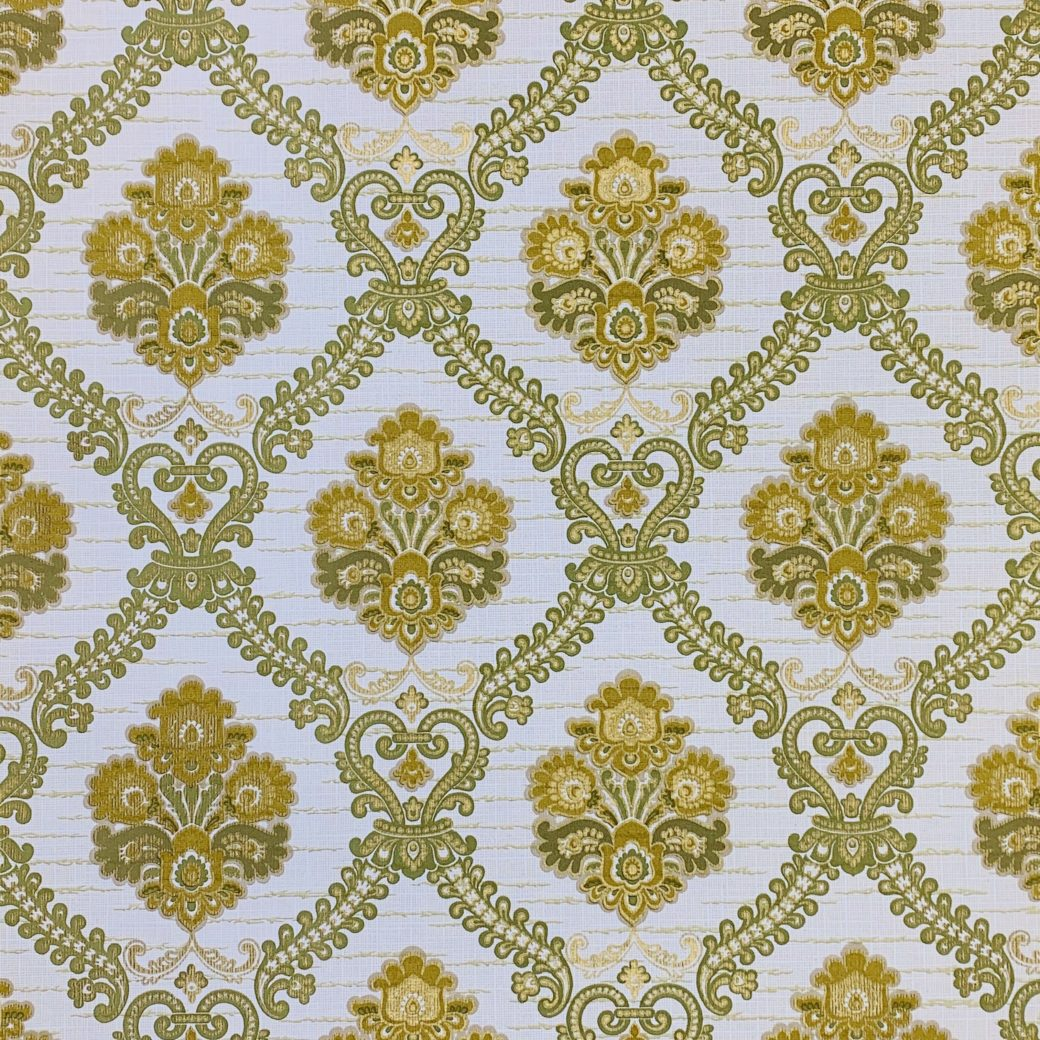 Green Baroque Wallpaper 1