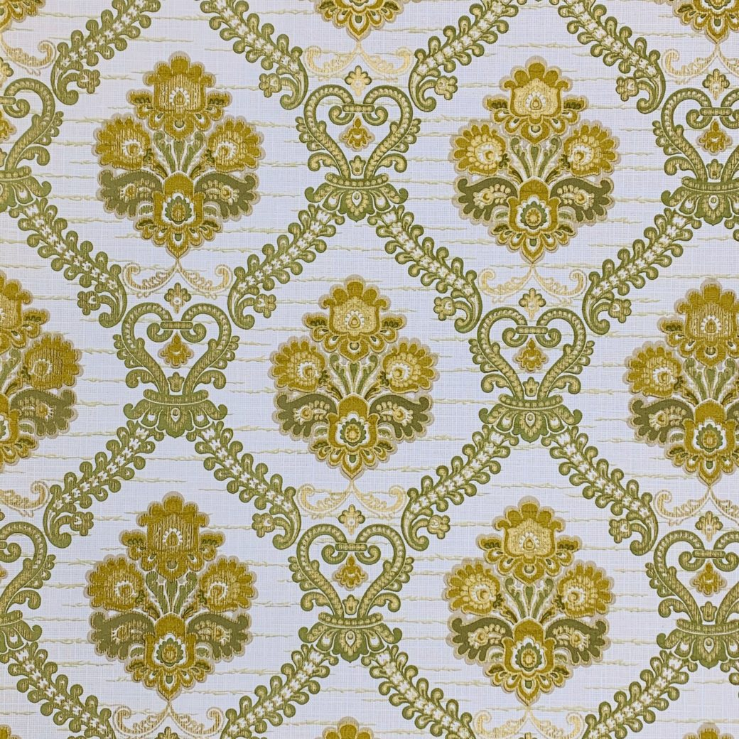 Green Baroque Wallpaper 2