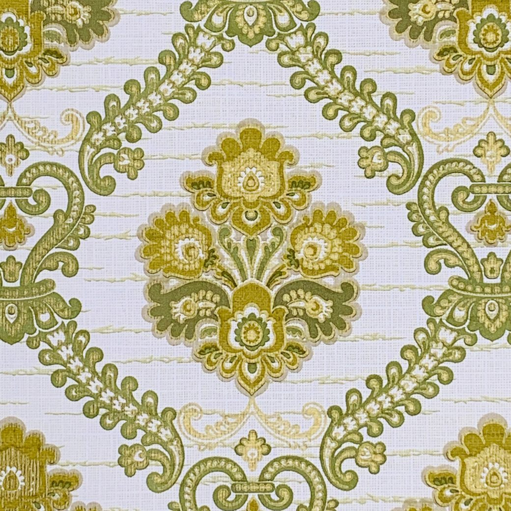 Green Baroque Wallpaper 4