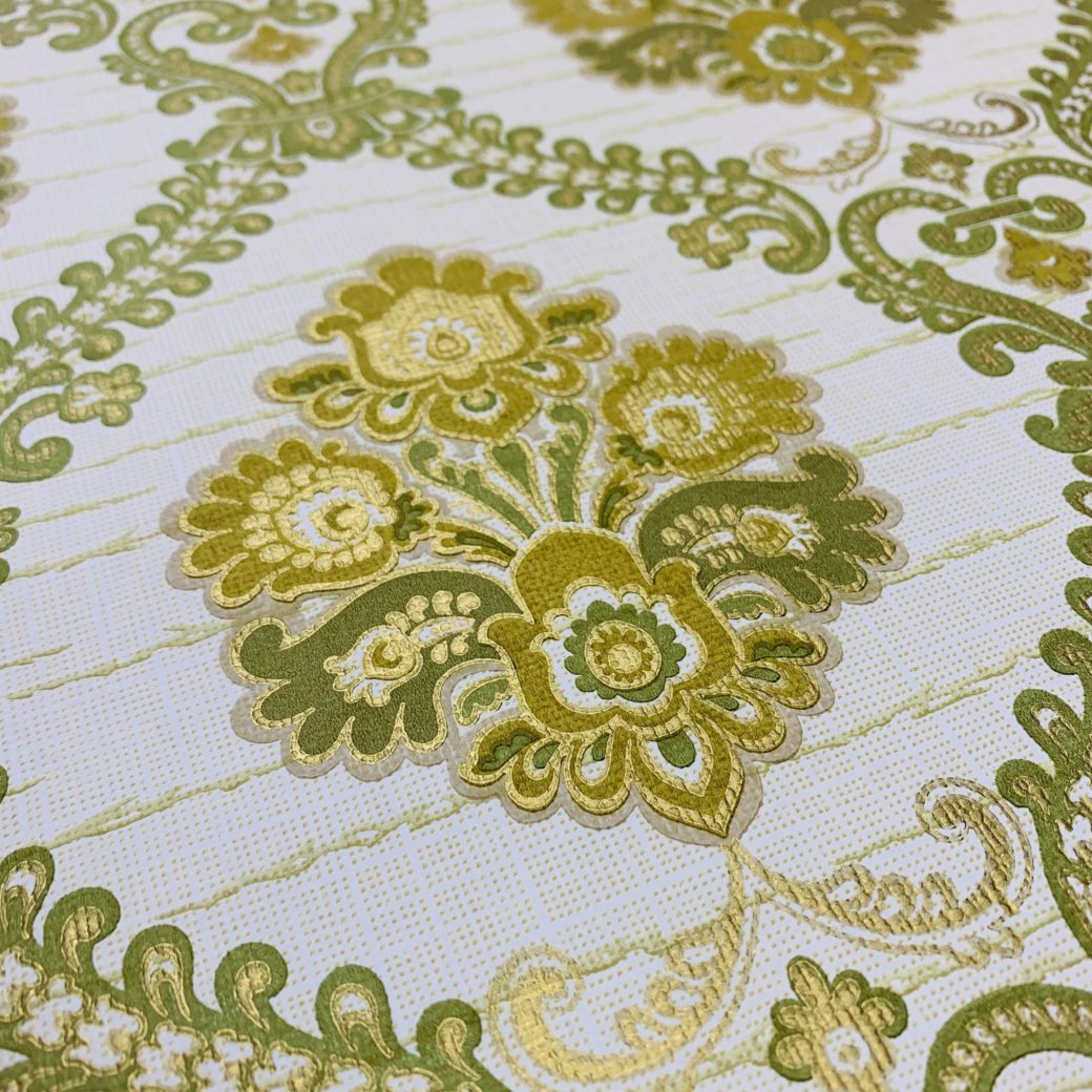 Green Baroque Wallpaper 5
