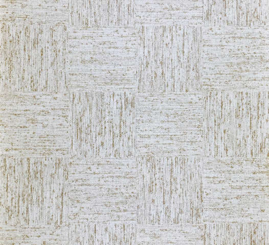 Light Brown Checkered Textile Look Wallpaper