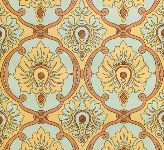 Modern baroque wallpaper