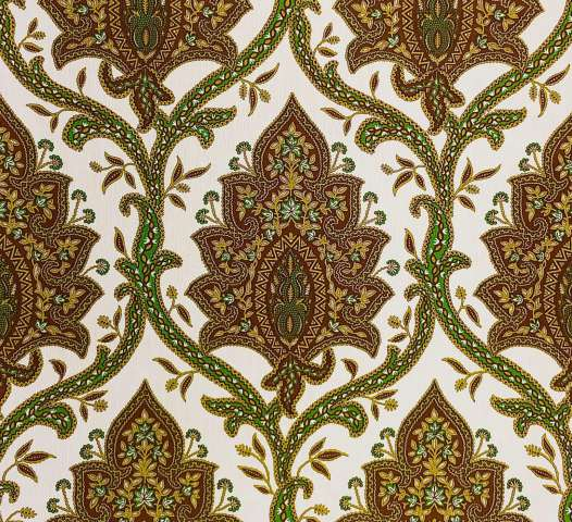 Modern retro baroque wallpaper