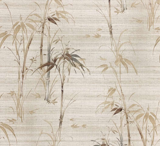Vintage Bamboo Pattern Wallpaper
