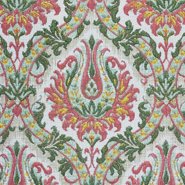Pink and Green Baroque Wallpaper 5