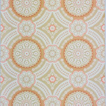 Pink damask wallpaper 1