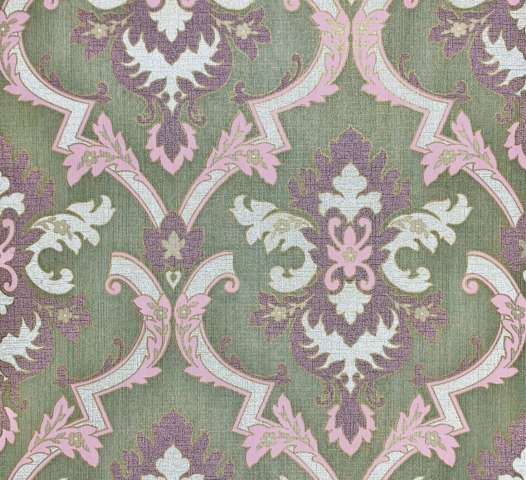 Purple baroque wallpaper
