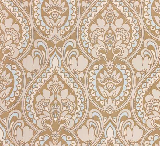Retro baroque wallpaper