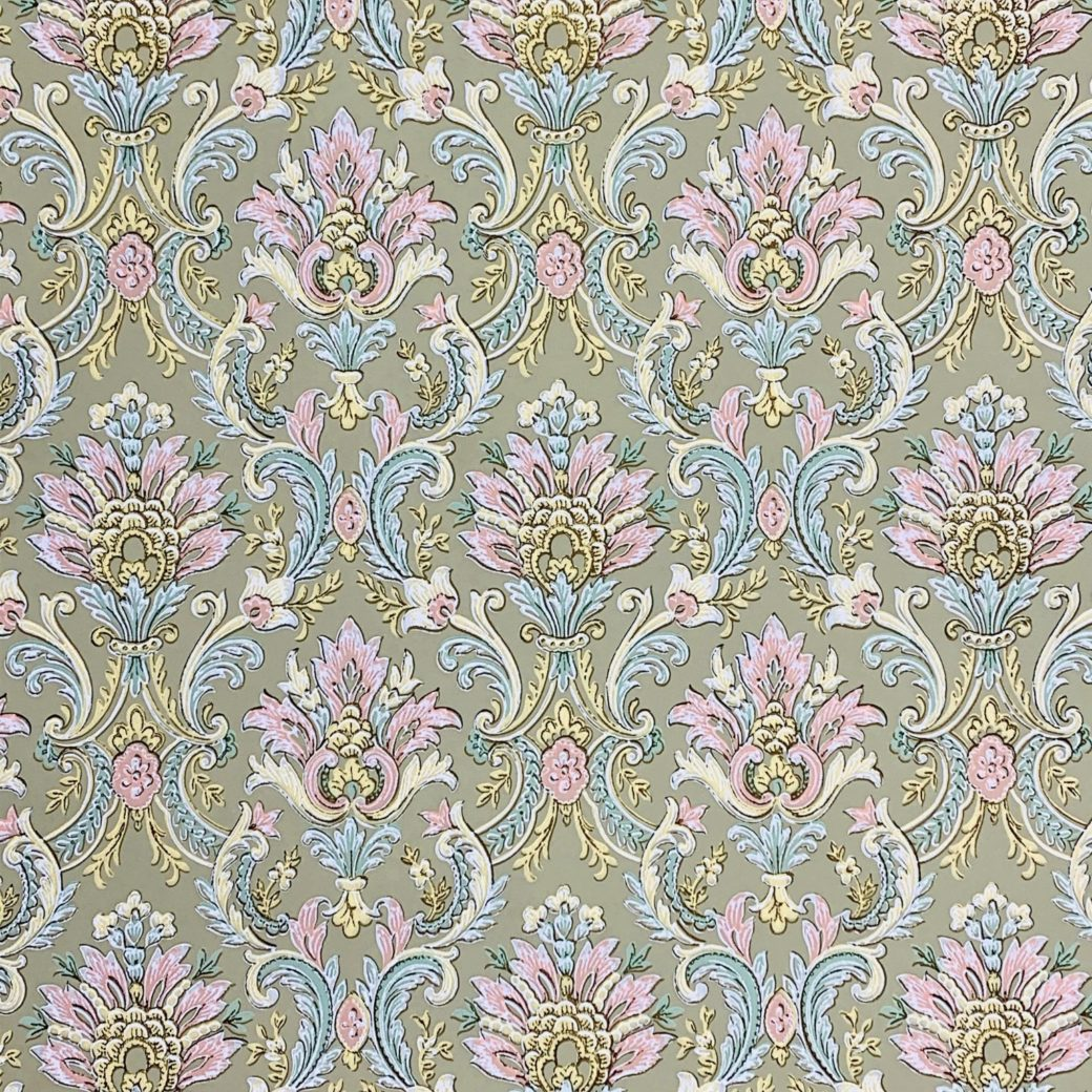 Vintage baroque wallpaper 1 2
