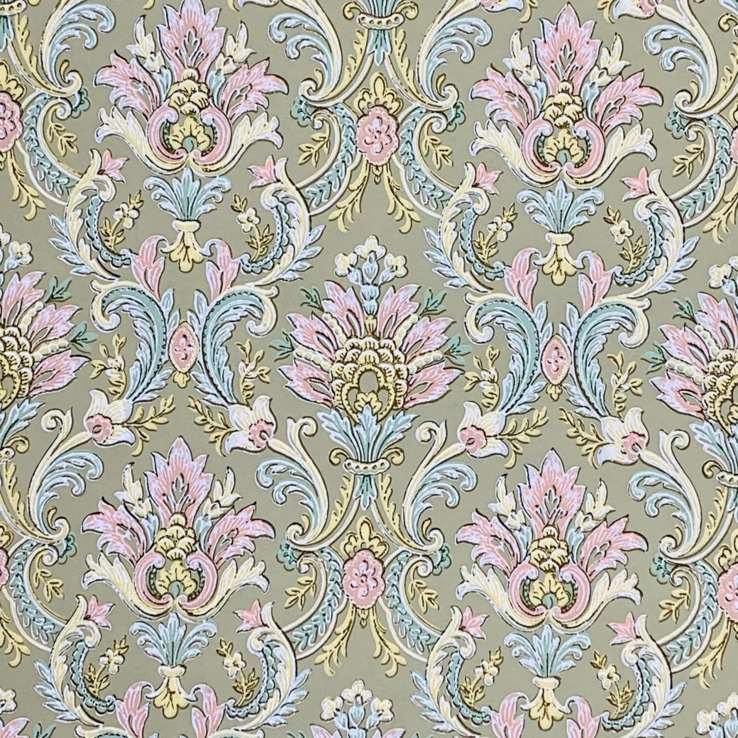 Vintage baroque wallpaper 2 2