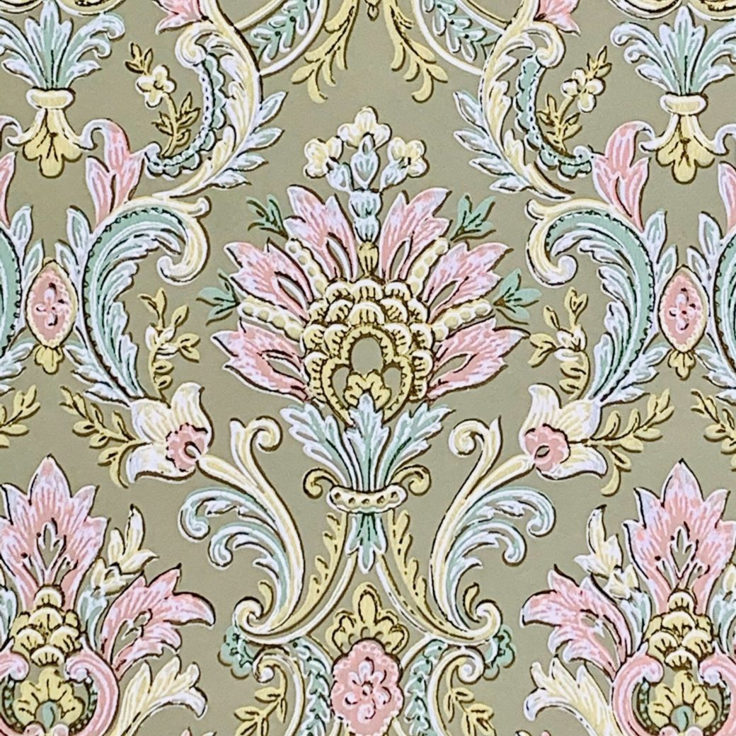 Vintage baroque wallpaper 3 1