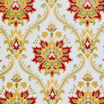 Red damask wallpaper 6