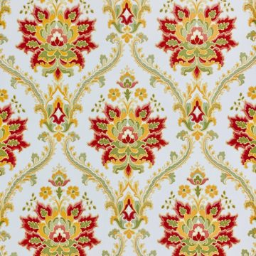 Red damask wallpaper 5