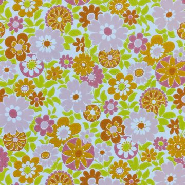Retro Floral Seventies Wallpaper 2