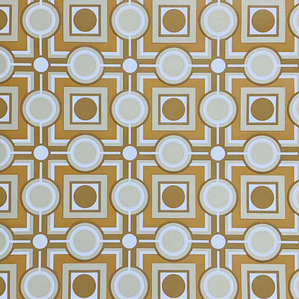 Retro Geometric Wallpaper 2