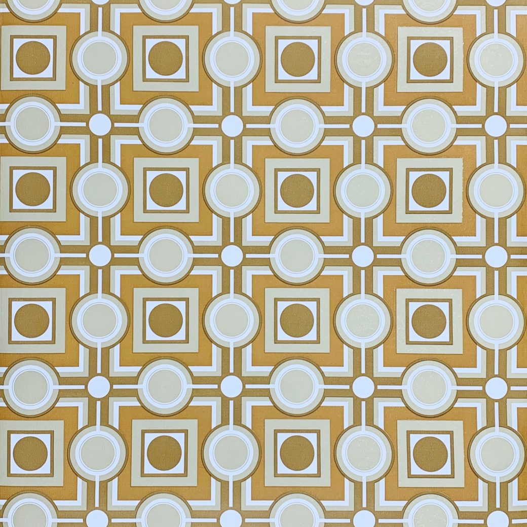 Retro Geometric Wallpaper