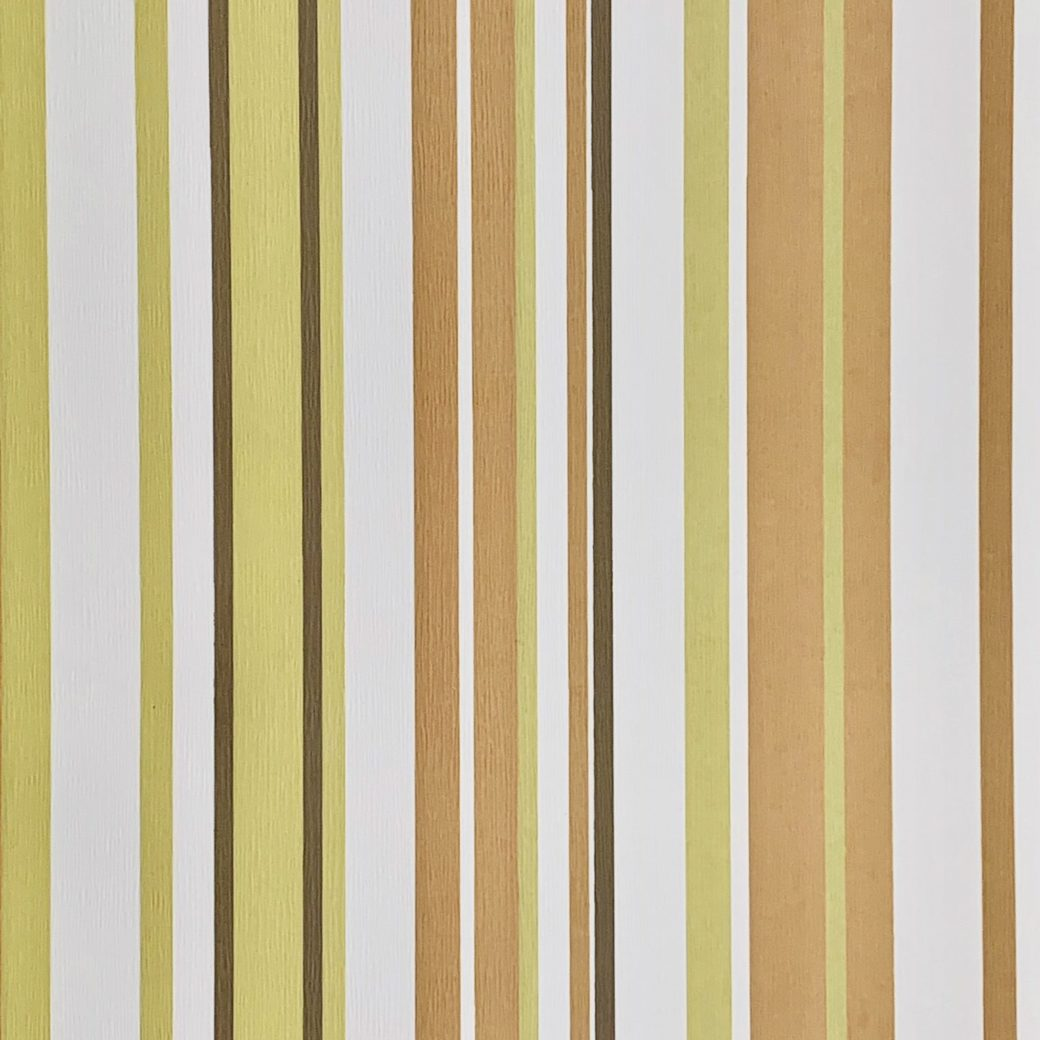 Green and brown striped wallpaper 3