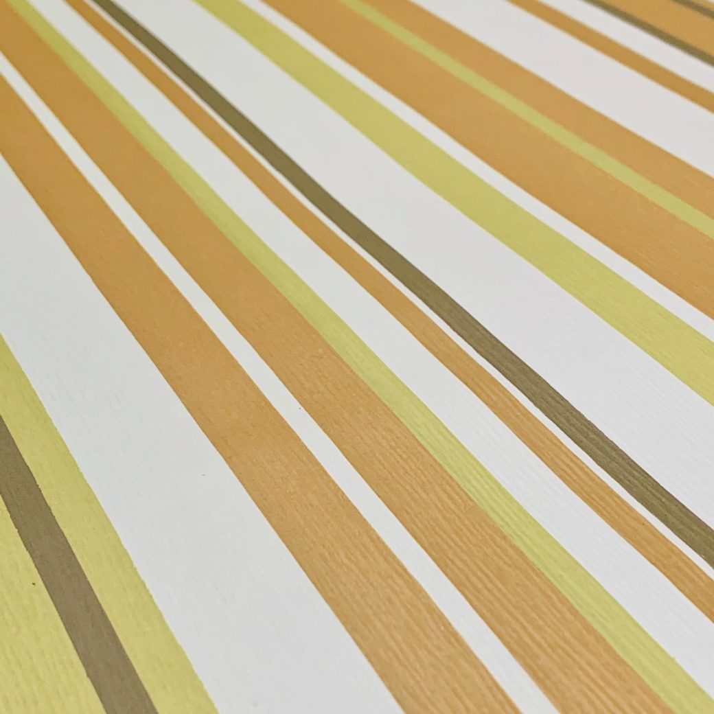 Green and brown striped wallpaper 4