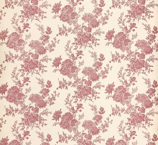 Romantic 1950s Floral wallpaper