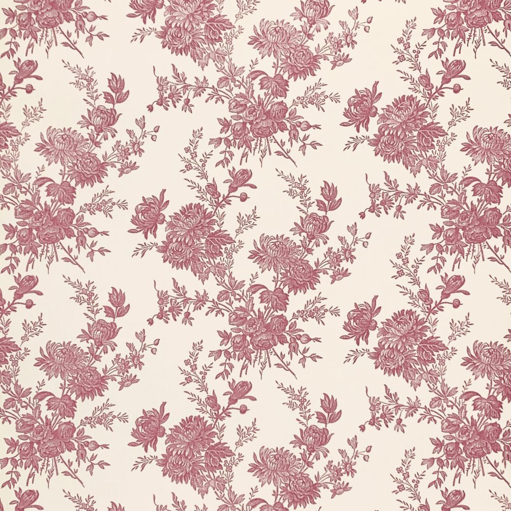 Romantic 1950s Floral wallpaper 2